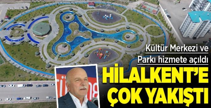 Büyükşehir'in yeni yatırımları Hilalkent Kültür Merkezi ve Parkı hizmete açıldı
