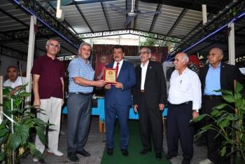 Başkan Gürkan, muhtarlara teşekkür plaketi programına katıldı