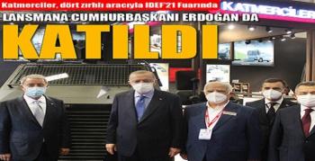 Cumhurbaşkanı Erdoğan Eren Bülbül'ün Adını Yaşatacak EREN ile HIZIR II Lansmanına Katıldı