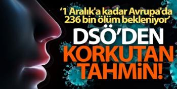 DSÖ Avrupa: 'Tahminlere göre 1 Aralık'a kadar Avrupa'da 236 bin ölüm bekleniyor'