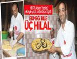 MHP'li Yurdigül vatandaşa 3 Hilal'li Ekmek Dağıttı