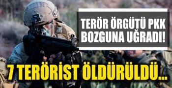 Terör örgütü PKK bozguna uğradı! Etkisiz hale getirildiler