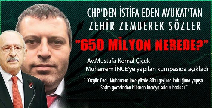 CHP'de milyonluk kriz